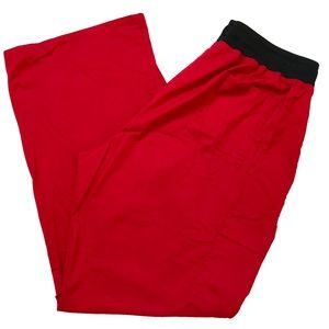 Scrubstar Pants, size XL, red